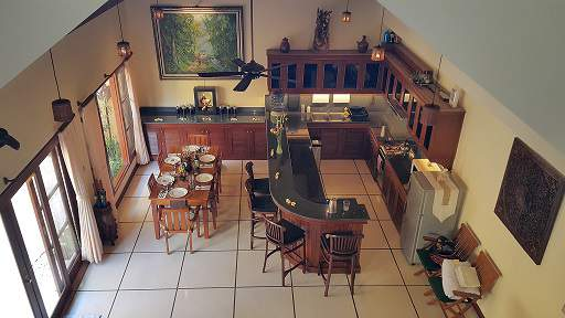 Your well equipped kitchen and dining area